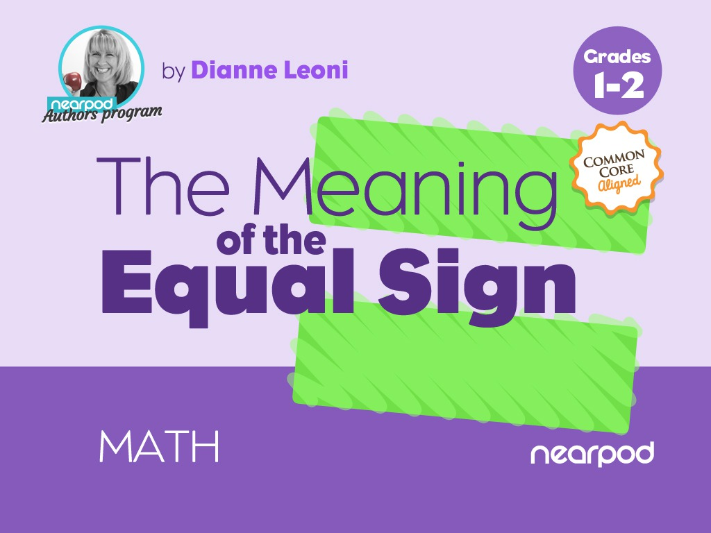 small resolution of The Meaning of the Equal Sign