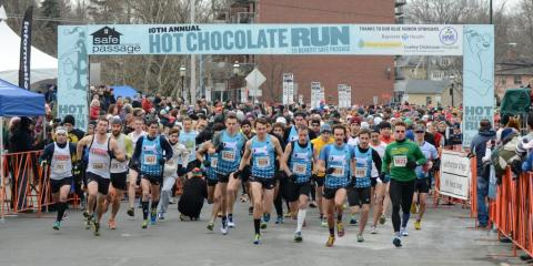 Hot Chocolate Run for Safe Passage
