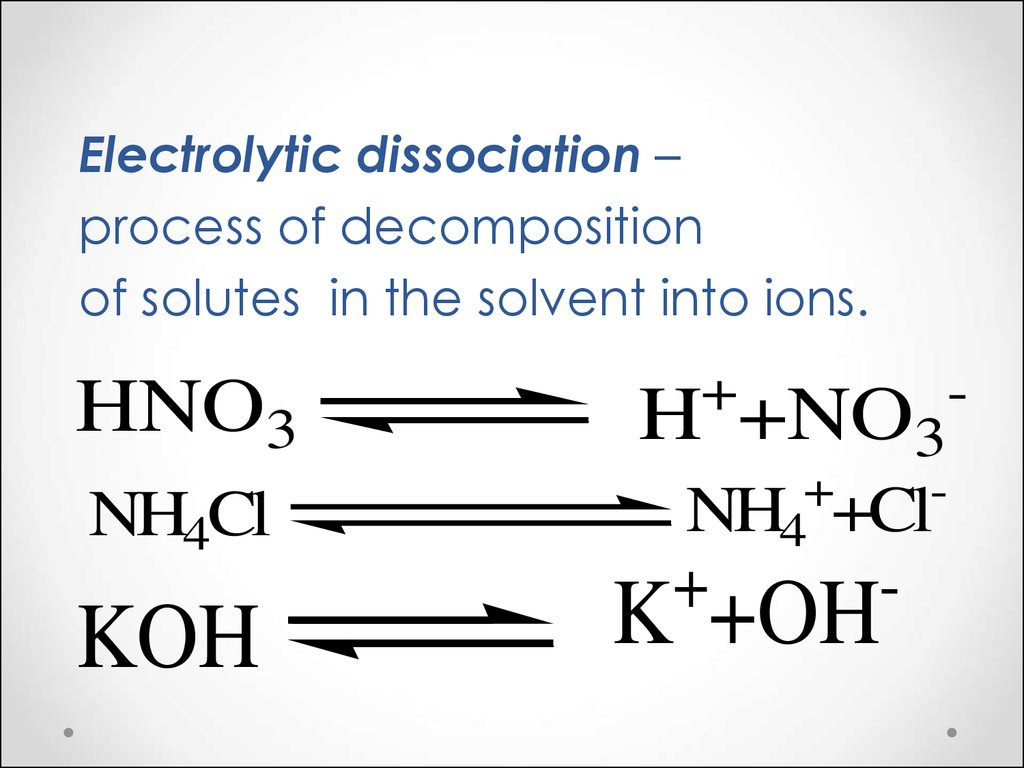 Write The Chemical Equation For Dissociation Of Nh4cl In