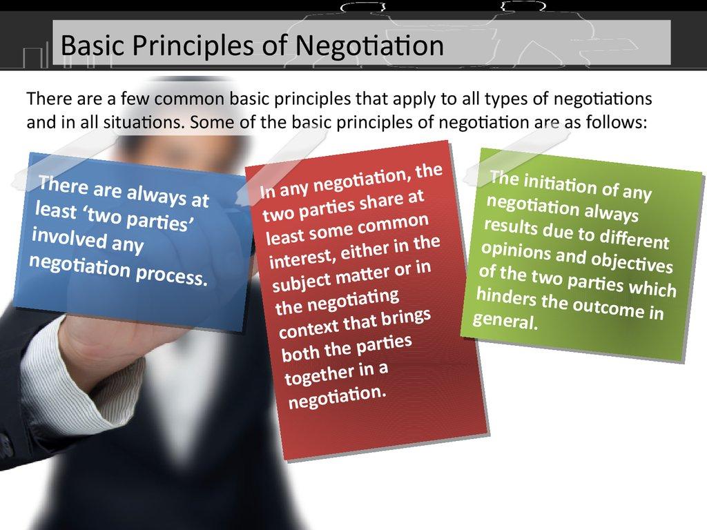 Negotiation skills Basics