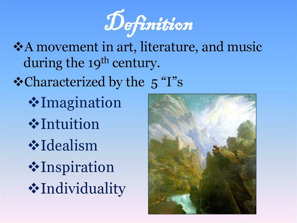 Romanticism Definition