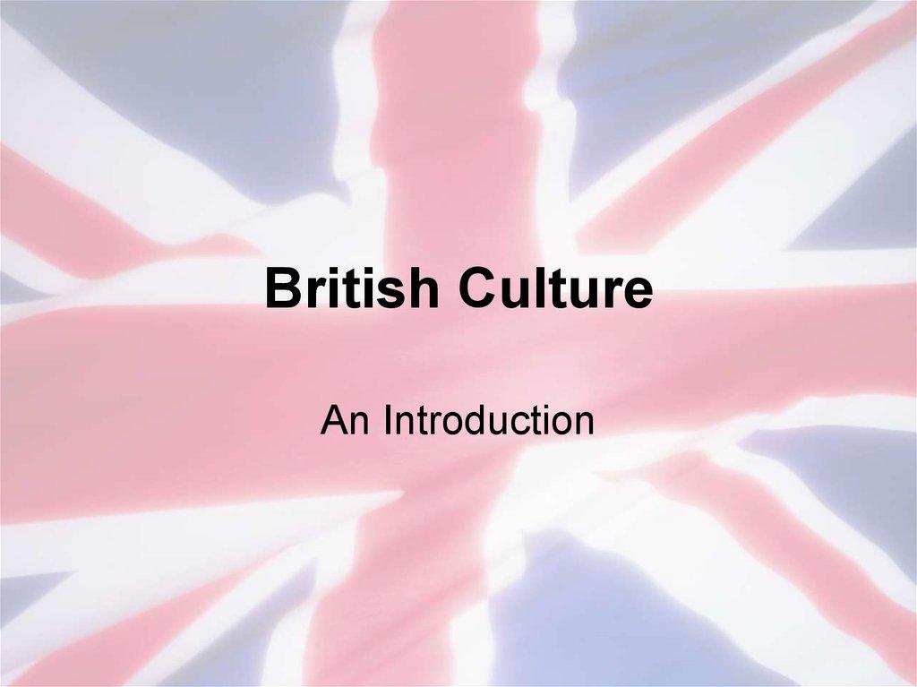 British CultureTest