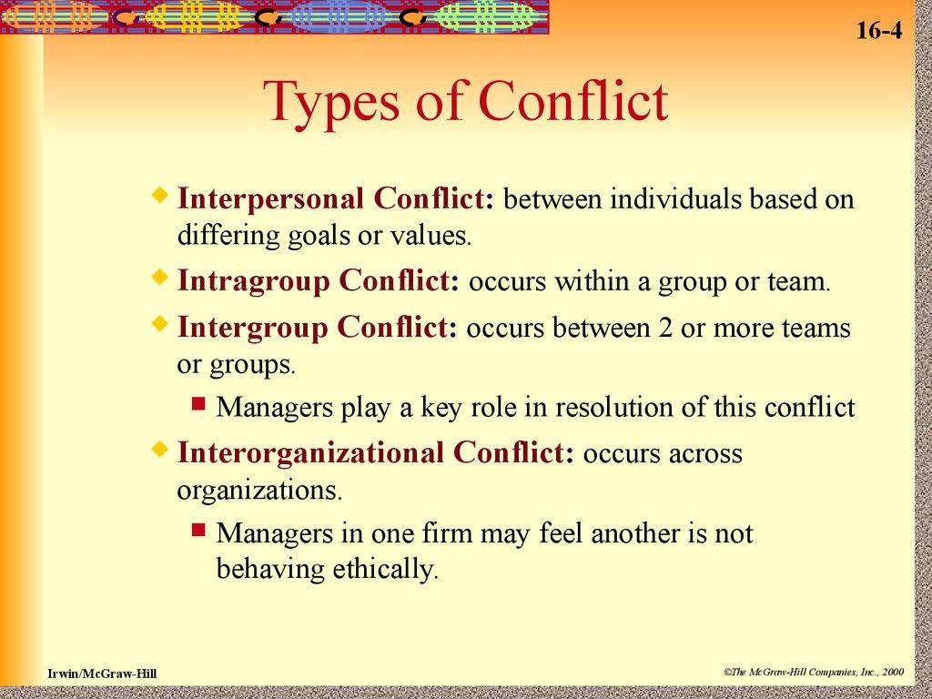 Conflict Management Session 9 16