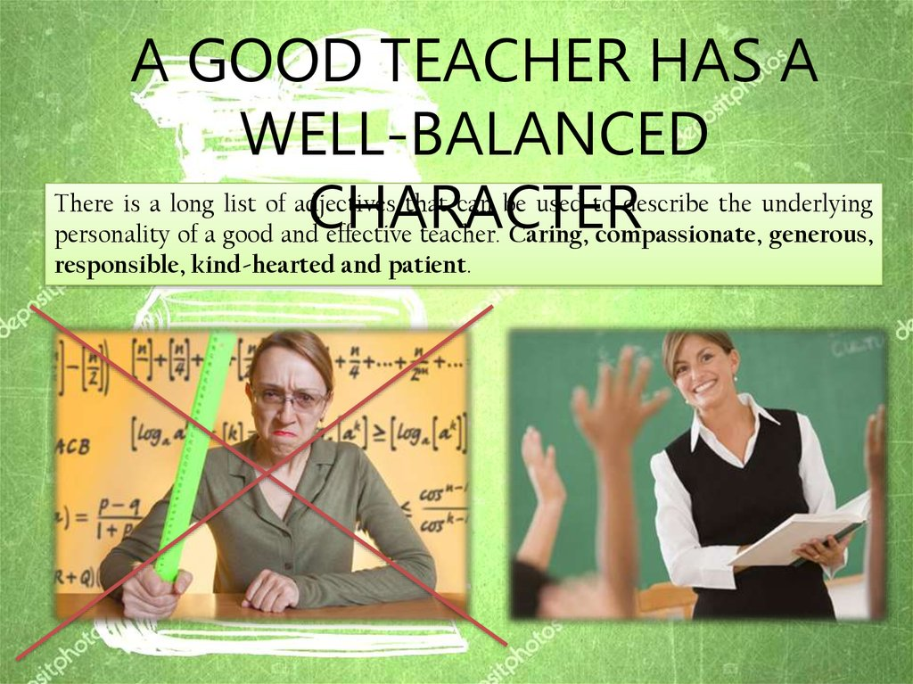 Qualities Of A Good Teacher презентация онлайн