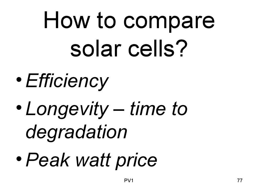 Lecture # 11 PV1. Solar Photovoltaics, AUA Solar System