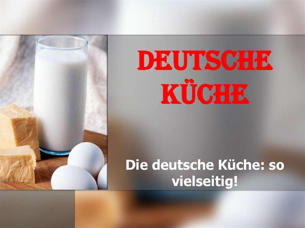 Deutsche kche