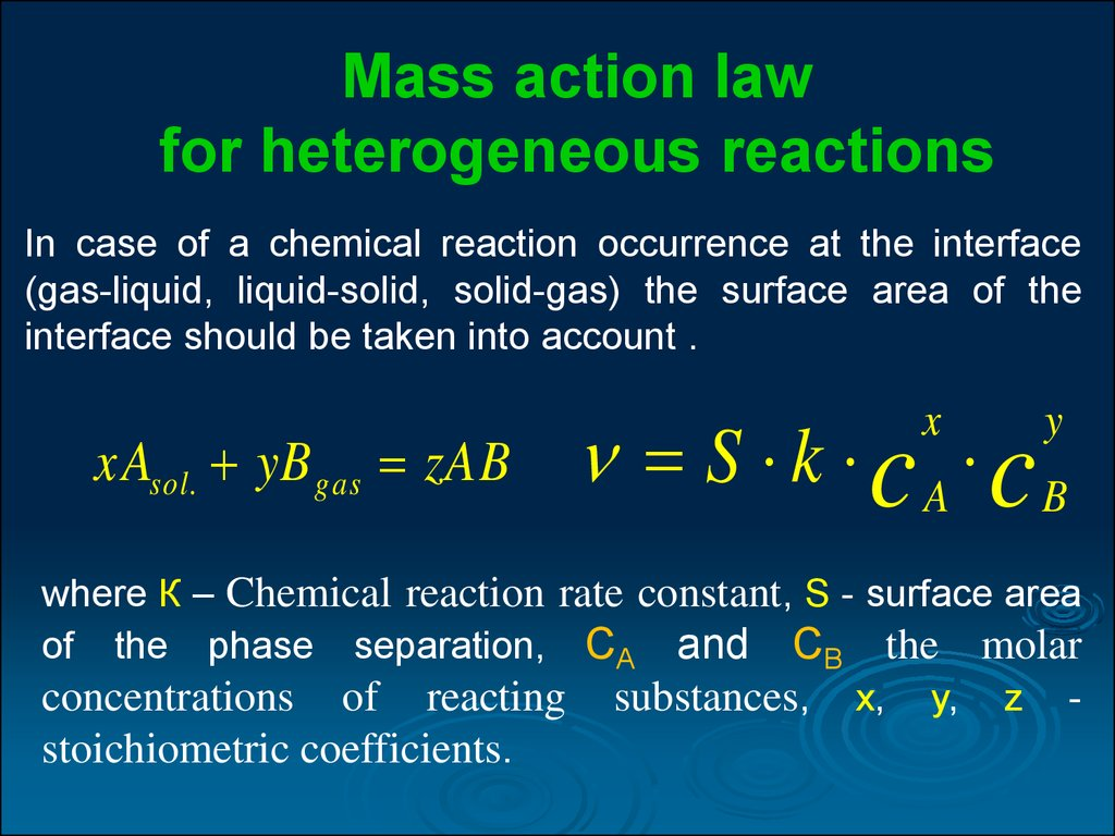 Factors Affecting The Rate Of Chemical Reaction