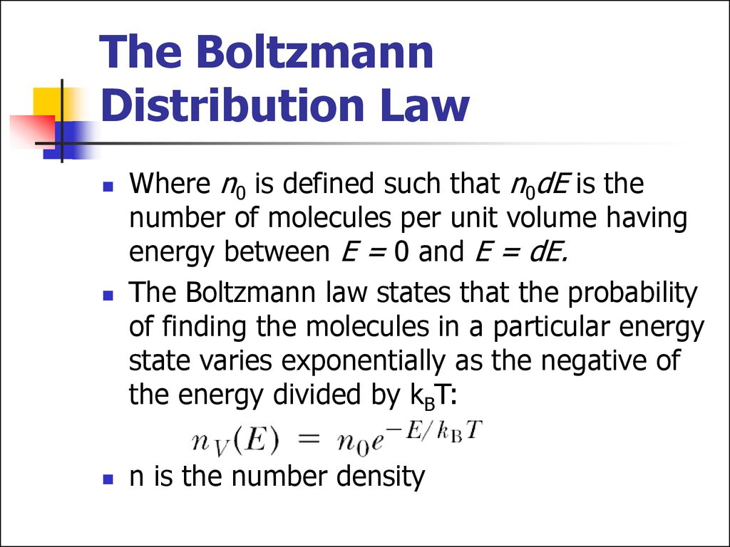 Molecularkinetic theory of ideal gases
