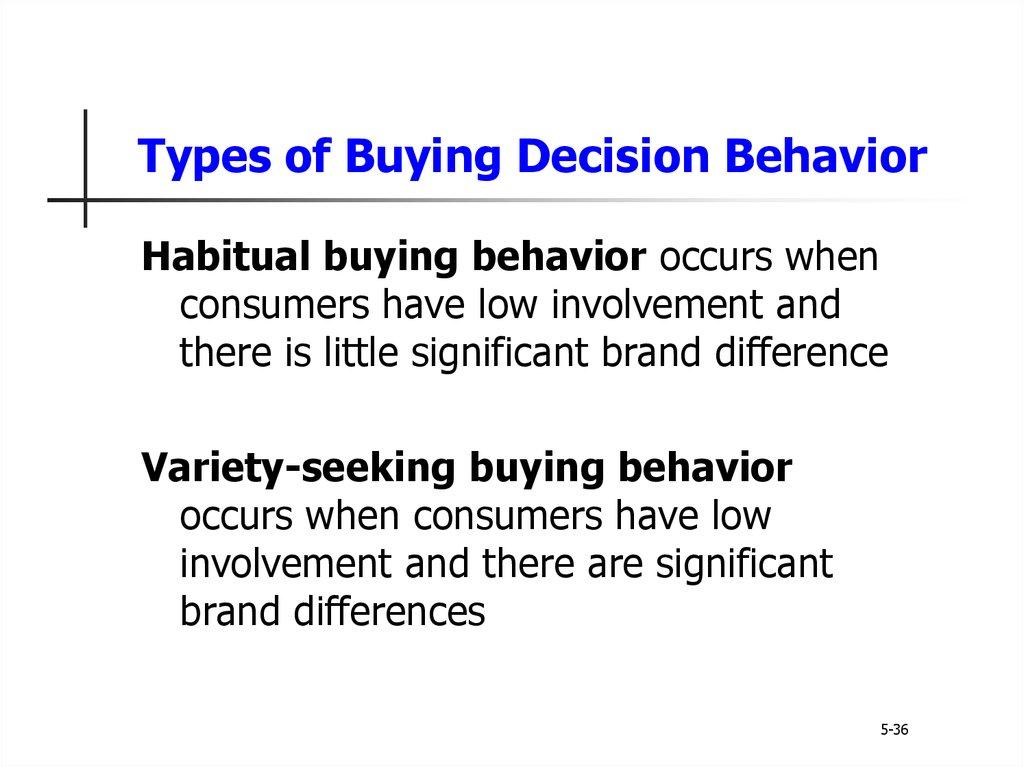 Principles of marketing. Consumer markets and consumer