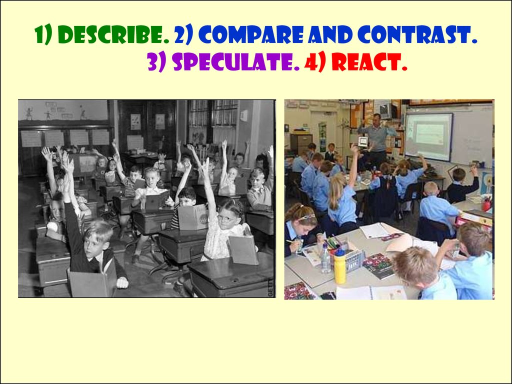Compare And Contrast Photos