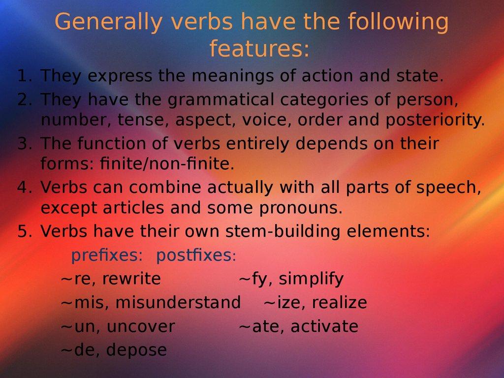 Diagramming Verb Types Part 2