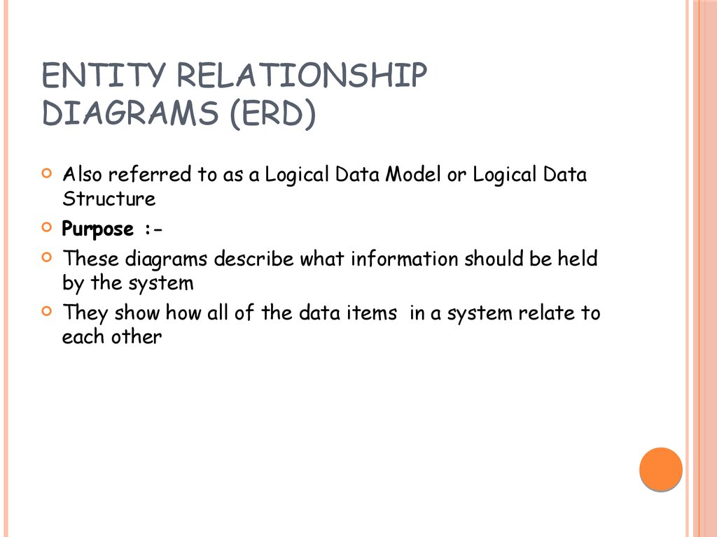 entity relationship diagram sample problems skull quiz acronyms it information technology презентация онлайн