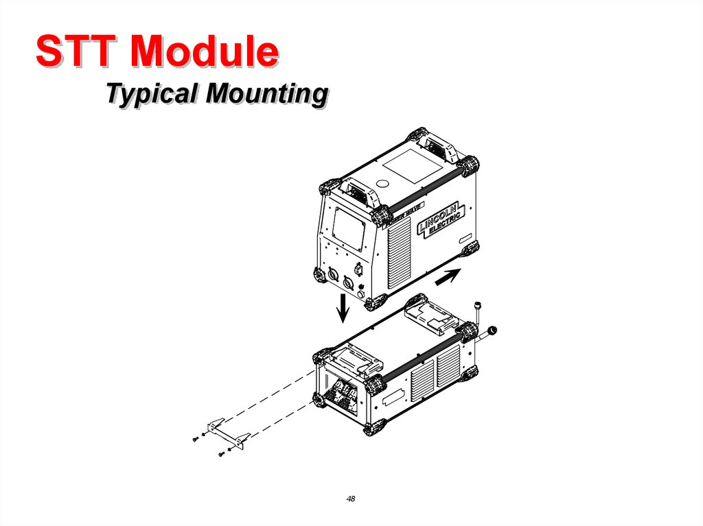 Power Wave® S350 CE & STT Module Service Training