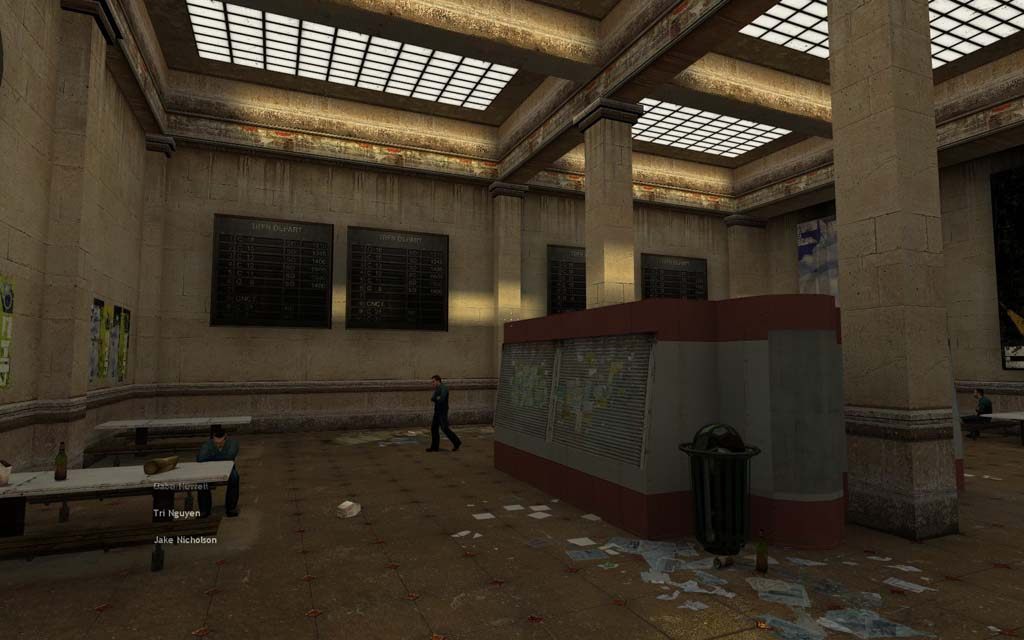 Alien 3d Wallpaper Intro Scene Of Half Life 2 City 17 Rail Station Remade