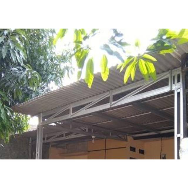 baja ringan vs asbes kanopi atap shopee indonesia
