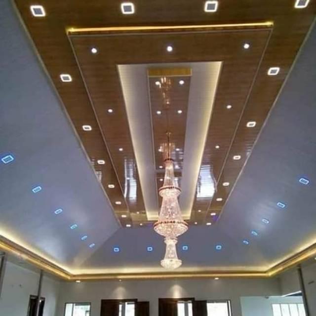 rangka plafon baja ringan minimalis pvc dan kanopi shopee indonesia