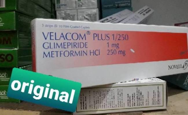 Velacom Plus 1 250 Per Box Shopee Indonesia