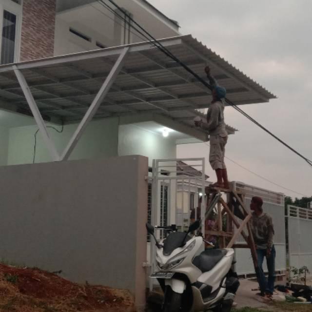 kanopi baja ringan termurah se jabodetabek shopee indonesia