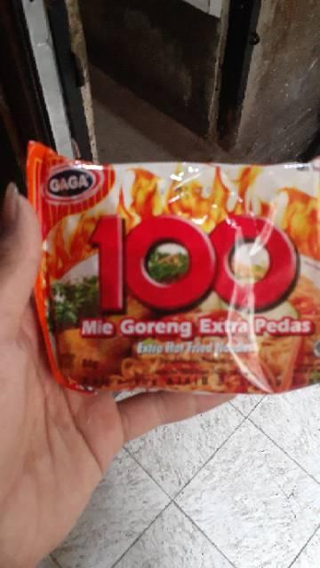 Mie Gaga 100 : Extra, Pedas, Jadul, Shopee, Indonesia