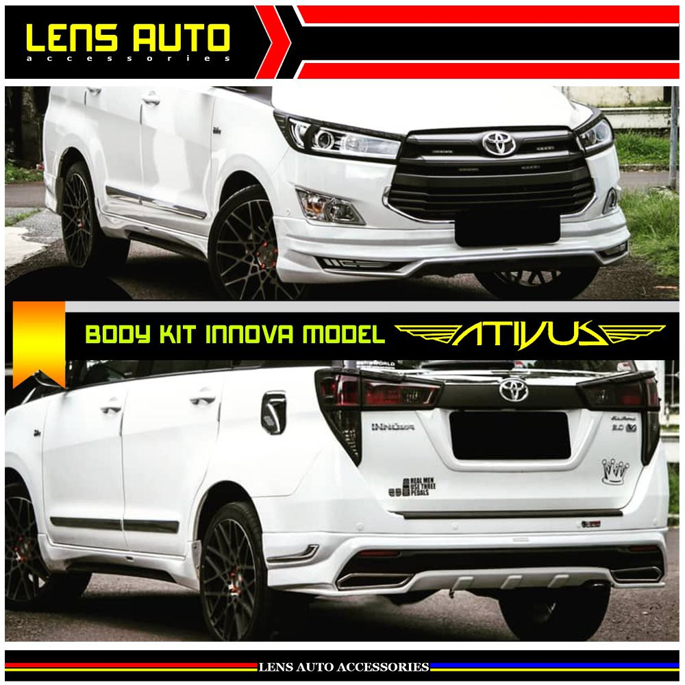 bodykit grand new avanza 2016 toyota yaris trd 2017 indonesia body kit plastik shopee