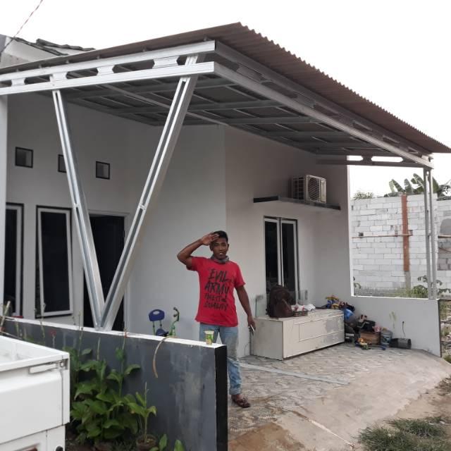 harga atap baja ringan untuk kanopi asbes shopee indonesia