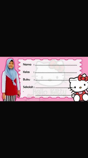 Stiker Nama Buku : stiker, Stiker, Label, Pakai, 34pcs, Shopee, Indonesia