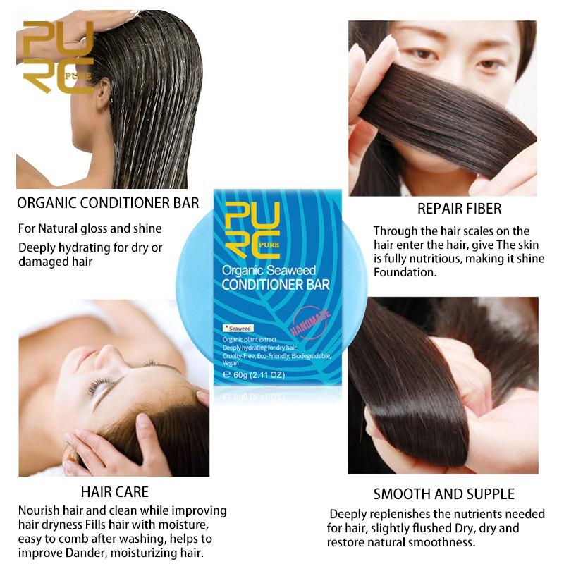 Purc Organic Natural Mint Shampoo Bar 100 Pure And No Chemicals