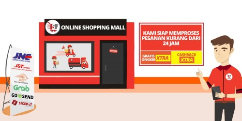 Toko Online OSM Online Shopping Mall Shopee Indonesia