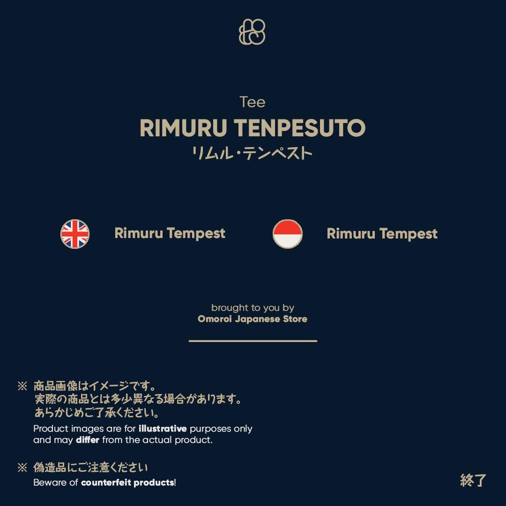 That time i got reincarnated as a slime figure rimuru tempest espresto effect. Omoroi Rimuru Tempest Tee Tensura Kaos Jepang Shopee Indonesia