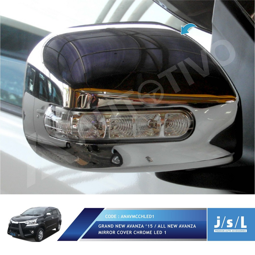 aksesoris grand new avanza harga all kijang innova 2.4 q a/t diesel venturer wiper cover chrome jsl mobil shopee indonesia