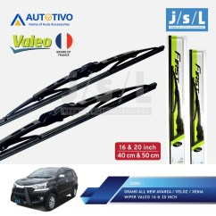 Ukuran Wiper Grand New Veloz Velg Avanza Paket Hemat Original All Xenia Bosch Shopee Indonesia