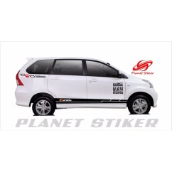 Cutting Sticker Grand New Avanza Interior 1.3 G A/t Stiker Mobil Xenia All Type Motif Racing Kombinasi Warna Shopee Indonesia