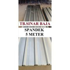 Harga Baja Ringan Per Meter Di Bandung Atap Spandek 5 X 0 30 Mm Sni Spandeck