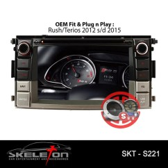 Head Unit Oem Grand New Veloz 1.3 M/t Doubledin Avanza Xenia 2015 Now Full Panel Shopee Indonesia