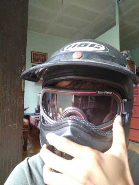 Bisa COD Kacamata Dmg Helm Bogo Retro  Shopee Indonesia