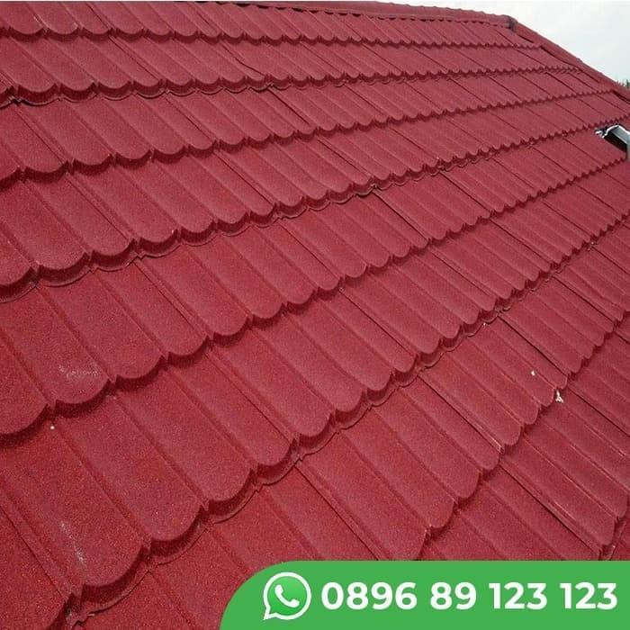 harga baja ringan per meter di semarang atap paket genteng metal rainbow suku cadang shopee