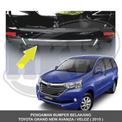 Cover Grill Grand New Avanza Toyota Yaris Ts Trd List Shopee Indonesia