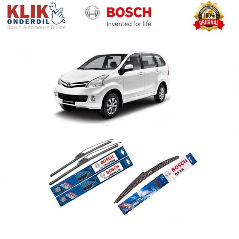 ukuran wiper grand new avanza 2015 harga all innova venturer frameless xenia bosch clear advantage 21 14 shopee indonesia