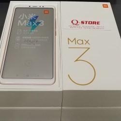 QT327 XIAOMI MI MAX 3 RAM 4/64 GB GARANSI DISTRIBUTOR - Hitam