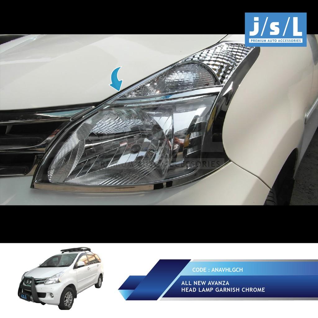 garnish fog lamp grand new avanza all kijang innova modifikasi xenia 52125 ta015 shopee indonesia