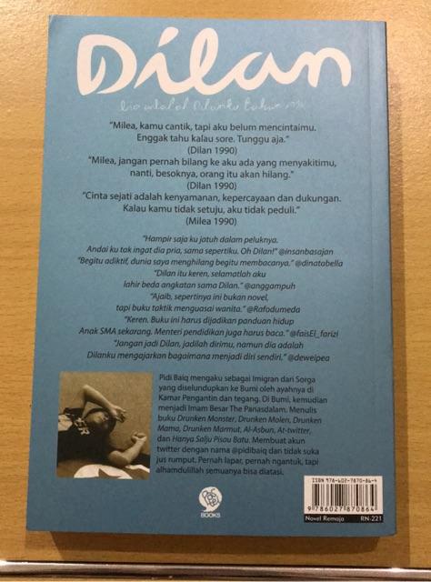 Sinopsis Novel Dilan 1990 : sinopsis, novel, dilan, Novel, Dilan, Shopee, Indonesia