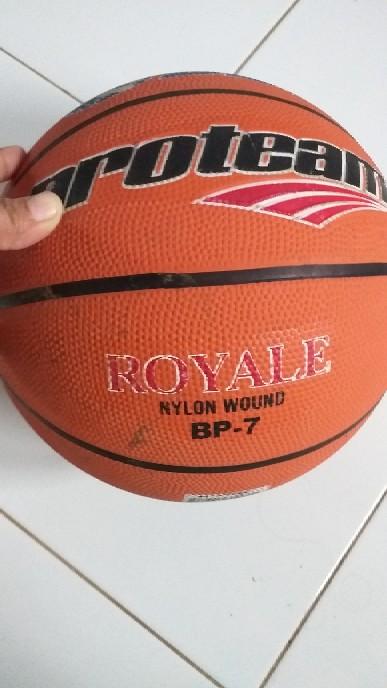Diameter Bola Basket : diameter, basket, Proteam, Basket, Rubber, Royale, Shopee, Indonesia
