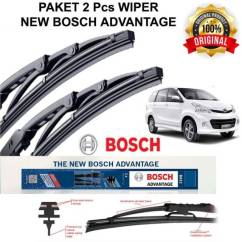 Ukuran Wiper Grand New Avanza Veloz Lampu Paket Hemat Original All Xenia Bosch Shopee Indonesia
