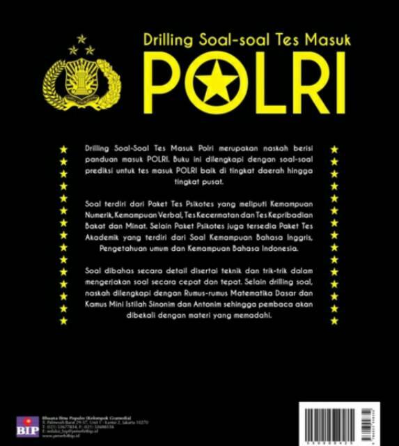 Yang berarti harus paham dan menguasai beberapa rumus dasar. Varn Co Drilling Soal Soal Tes Masuk Polri 2017 Shopee Indonesia