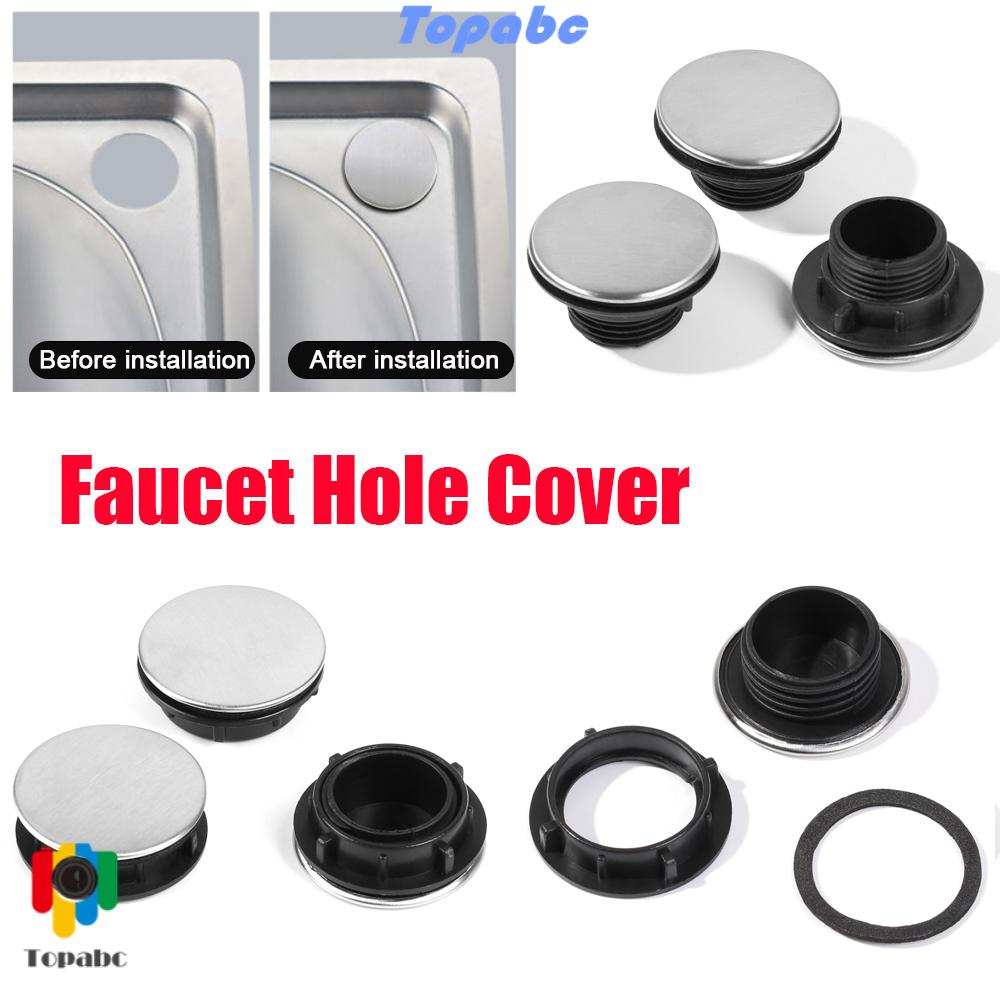 top useful faucet hole cover accessories drainage seal kitchen sink plug washbasin anti leakage basin laundry durable water stopper soap dispenser