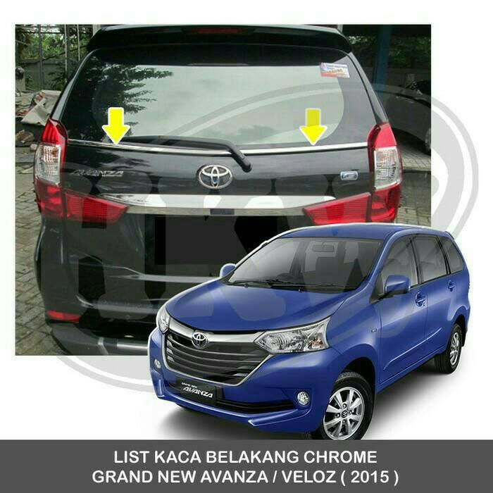 list grand new avanza vs mitsubishi xpander lis kaca belakang great xenia veloz shopee indonesia