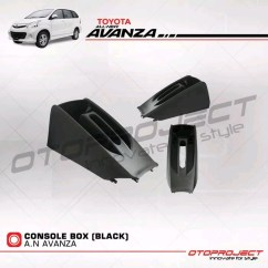 Console Box Grand New Avanza Veloz Modifikasi Konsul All Xenia 2012 2014 Black Original Shopee Indonesia