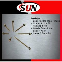 Harga Baut Baja Ringan 1 Dus 10 X 19 Isi 50 Pcs Roofing