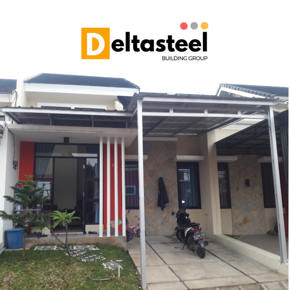 kanopi baja ringan termurah atap spandek shopee indonesia