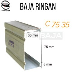 Baja Ringan K Steel Ekonomis Sni C 0 60 Tct Full 6 Meter